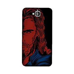 StyleO Honor Holly 2 Plus Designer Printed Case & Covers (Honor Holly 2 Plus Back Cover) - Superhero