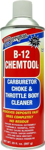 Berryman (0120C) B-12 Chemtool Carburetor/Choke And Throttle Body Cleaner - 20 Oz.