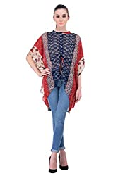 TOPS :Straight Cut polyester Fancy solid women western top by Meiro New York, since 1999