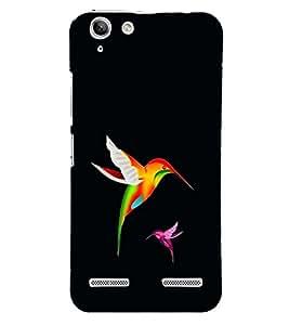 Fuson Premium Colorful Birds Printed Hard Plastic Back Case Cover for Lenovo Vibe K5 Plus