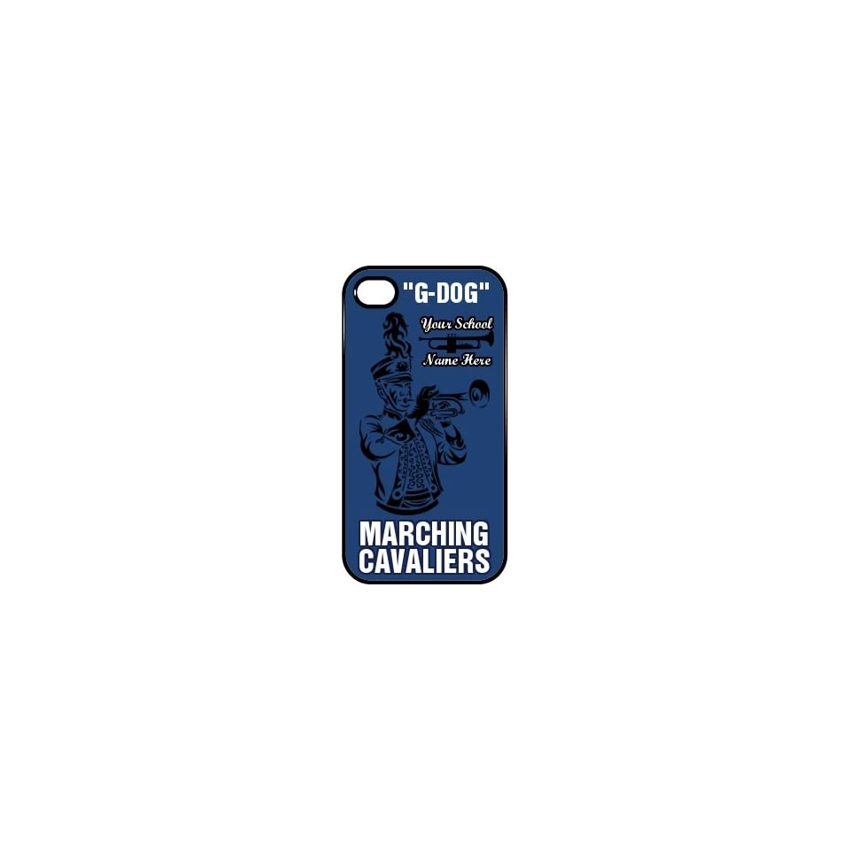 Marching Band Iphone 4 Custom Plastic iPhone 4 & 4S Case Black on