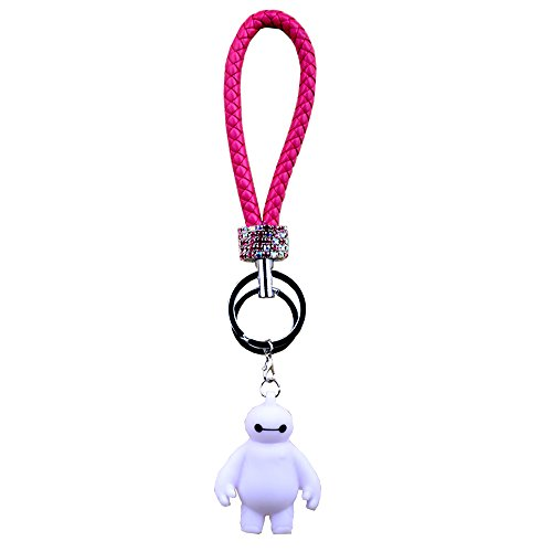 SG-010 the Small White Man Doll Bv Rope Car Key Chain Bv Establishment Key Ring Chain Car Keys Hang Man Woman
