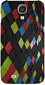 Incredible multicolor printed protective REBEL mobile back cover for Samsung I9500 Galaxy S4 D.No.N-L-12725-S4
