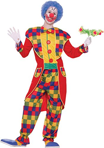 Morris Costumes Men's CLOWN TUXEDO ADULT STD, One size