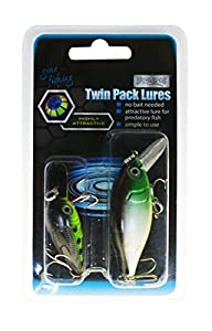 Twin pack lures by Boyz Toys
