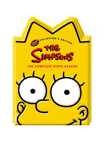 The Simpsons - Season 9 (Ltd Edition 'Lisa' head)