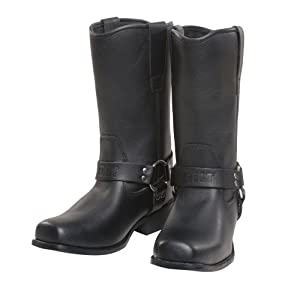 Amazon.com: CUSTOM BILT Cruiser Leather Motorcycle Boots - 9, Black