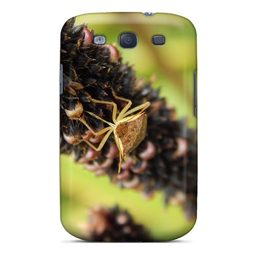 New Bugbc3647Dxmbs Macro Rice Stick Bug Skin Case Cover Shatterproof Case For Galaxy S3 front-1072161