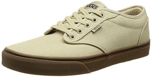 Vans Men's Atwood (12 oz Canvas) Khaki/Gum Skate Shoe 6.5 Men US