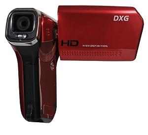 DXG DXG-5B6VR QuickShots 720p HD Mini Camcorder (Red)