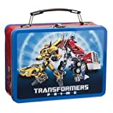 Vandor 41070 Transformers Prime 9 by 3.5 by 7.5-Inch Tin Tote, Large, Multicolored