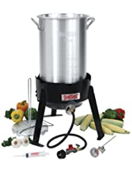 Bayou Classic 3066A 30-Quart Outdoor Turkey Fryer Kit (Discontinued by Manufacturer) by