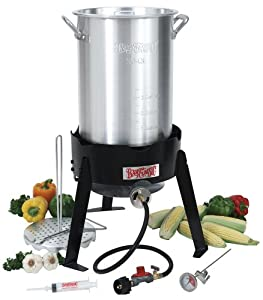 Bayou Classic 3066A 30-Quart Outdoor Turkey Fryer Kit (Discontinued by Manufacturer)