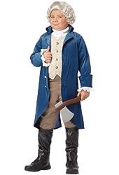 California Costumes George Washington/Thomas Jefferson Child Costume, Large