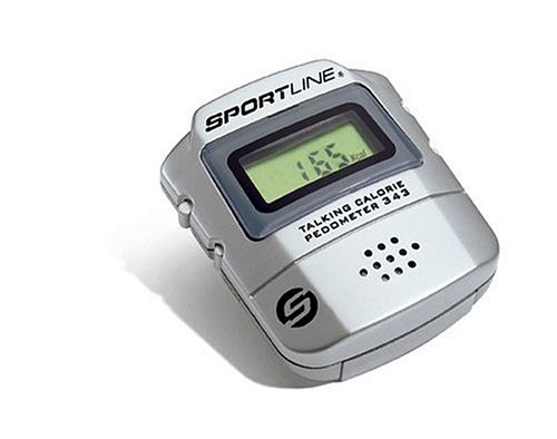 Sportline 343 Talking Calorie Counter and Pedometer