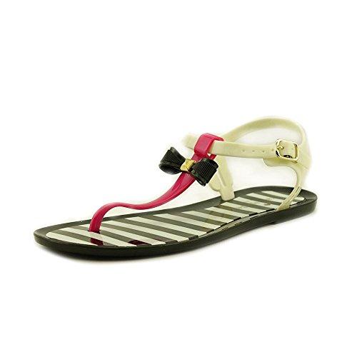 Kate Spade New York Women'S Fresh Jelly Sandal,Fuschia/White/Black,9 M Us