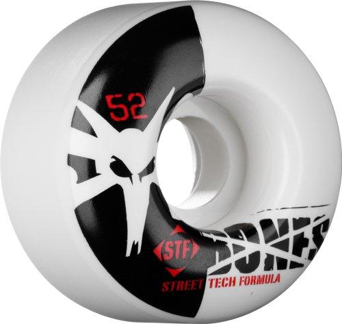Bones STF Stree Tech Formula Skateboard Wheels (Standard, 52mm, Set of 4)