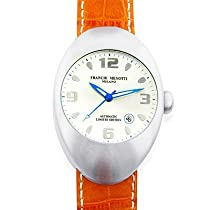 "Franchi Menotti Unisex ""9000 Series"" Stainless Steel Automatic Limited Edition w/Leather Strap Watch"