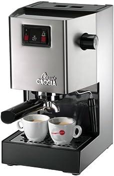 Gaggia Classic Brushed Semi-Automatic Espresso Machine