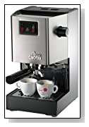 Gaggia 14101 Classic Espresso Machine in Brushed Stainless Steel