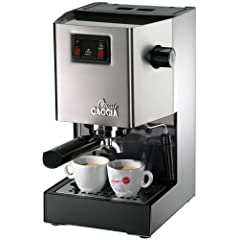 Gaggia 14101 Classic Espresso Machine, Brushed Stainless Steel by Gaggia