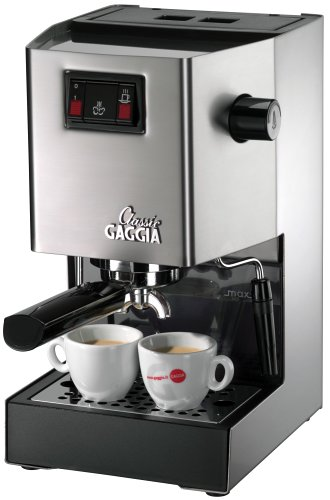 Gaggia 14101 Classic Espresso Machine, Brushed Stainless Steel (Gaggia Valve compare prices)