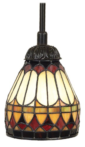 Quoizel TF1541VB West End Tiffany 1 Light Piccolo Pendant