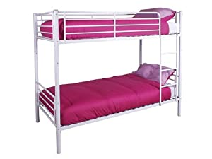 GFW Florida White 3' Single Bunk Beds