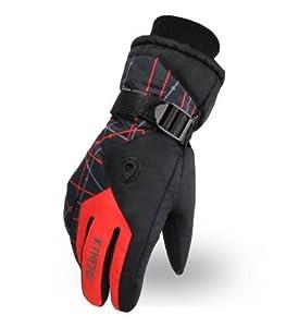 Bernice Fashion Art Winter Outdoor Sports Windproof Waterproof Cycling Skiing Men/Women Gloves YJ-M303