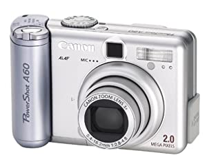 Canon PowerShot A60 2MP Digital Camera with 3x Optical Zoom