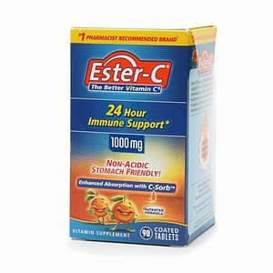 Ester C Vitamin C 1000Mg 90 Coated Tablets