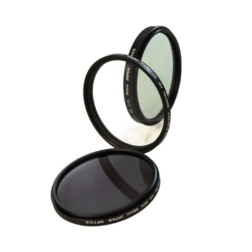 Camdesign 58Mm Professional High Definition Lens Filter Accessory Kit For Canon Eos Rebel T5 T5I T4I T3I T3 T2I T1I Xt Xti Xsi Sl1 Dslr Cameras - Includes Hd Filter Kit (Uv, Cpl, Nd4) + Tri-Fold Velcro Closure Wallet Style Case + Camdesign Wristband Lens