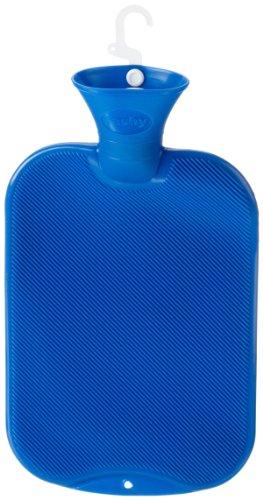 Fashy 6440 Hot Water Bottle 2 L Half-Lamella Ultra Marine Blue