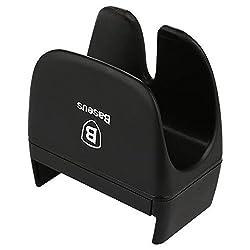 BASEUS Rein Series Car Steering Wheel Phone Holder Mount Clip for Mobile Phones-Black