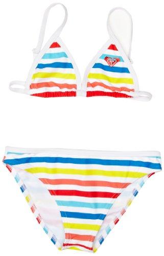 Roxy Striped Basic Girl's Swimsuit
