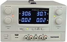 TekPower TP3005D-3M DC Power Supply Adjustable 0-30V 0-5A Dual Outputs with USB