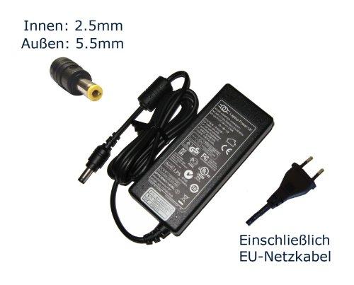 """Netzteil für Medion MD97474 MD97930 MD98160 MD98360 Notebook Laptop Ladegerät Aufladegerät, Charger, AC Adapter, Stromversorgung kompatibles Ersatz (12 Monate Garantie, einschließlich kostenlosem EU-Netzkabel) - """"Laptop Power"""" gebrandmarkt"""