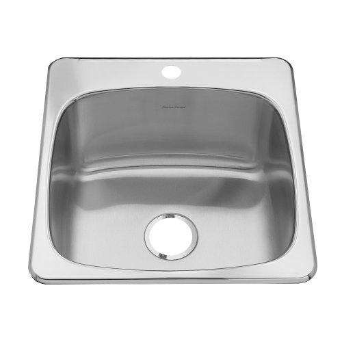 20 Inch Utility Sink : ... Inch Deep Single-Bowl Utility Sink, Brushed Satin Hardware Plumbing