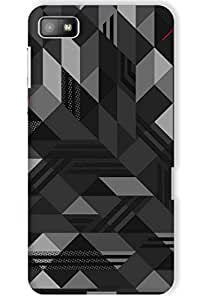 IndiaRangDe Case For BlackBerry Z10 (Printed Back Cover)