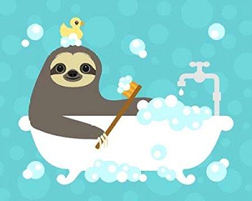 nancy-lee-scrubbing-bubbles-sloth-fine-art-print-6096-x-7620-cm