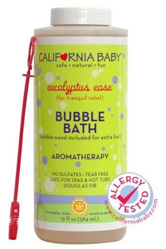 California Baby Bubble Bath Aromatherapy, 13 oz (Eucalyptus ease (for tranquil relief)) - 1