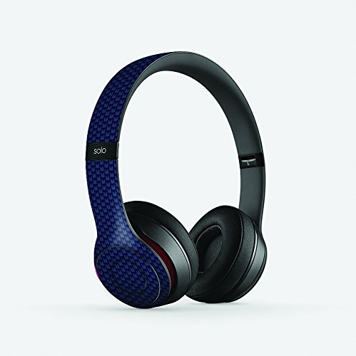 Seattle Football Inspired Carbon Fiber Compatible with Beats Solo 2 Skin/Decal (Carbon Fiber Headphones compare prices)