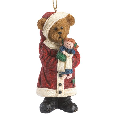 Boyds Resin Ho Primitive Santa Ornament