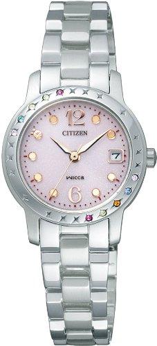 CITIZEN (シチズン) 腕時計 Wicca ウィッカ Eco-Drive エコ・ドライブ 10th Anniversary Lucky 7 colors ☆ 限定モデル NA15-1672A レディース