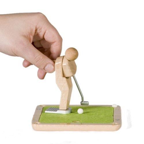 nano-pocket-green Tisch-Golfspiel Natur