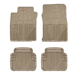 2006-2010 Pontiac G6 Tan WeatherTech Floor Mat (Full Set) [Convertible] (Weathertech Floor Mats Pontiac G6 compare prices)