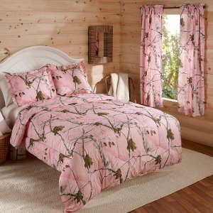 Pink Realtree Bedding 913 front