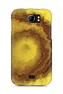 Amez designer printed 3d premium high quality back case cover for Micromax Canvas 2 A110 (Abstract 6)
