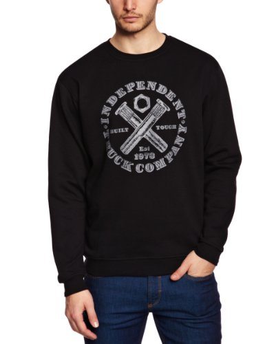 Independent Built Tough Crew Men's Jumper Black Large