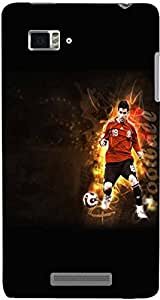 PrintVisa Sports Football Case Cover for Lenovo Vibe Z K910